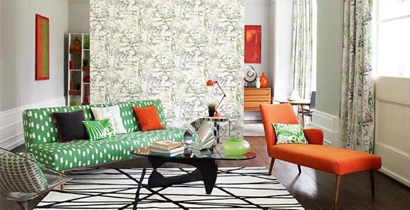 Aspen Emerald Wandgestaltung Tapete