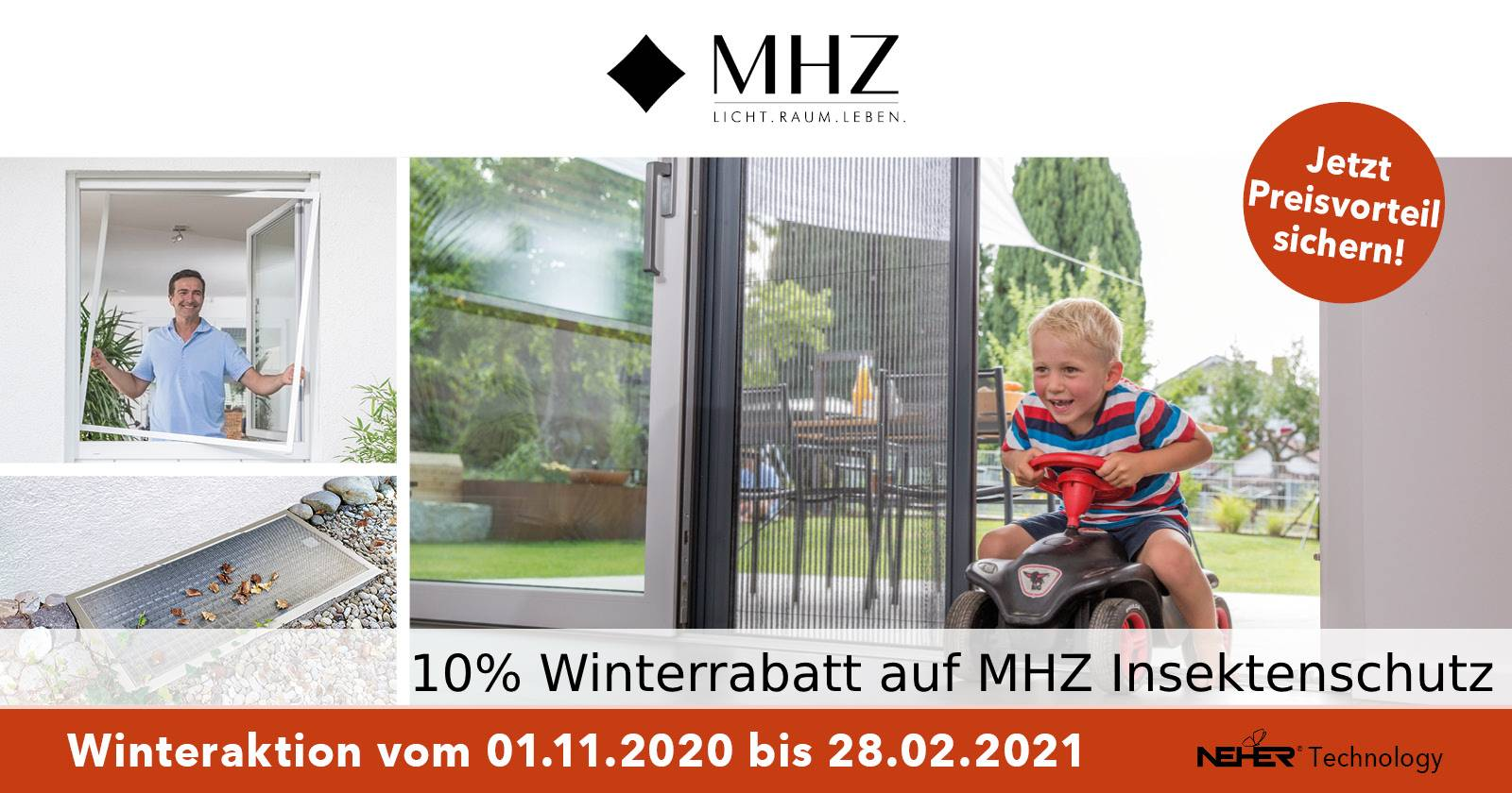 MHZ Winter-Aktion 10 % Rabatt