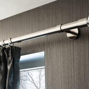 stilstange gardinenstange silber metall